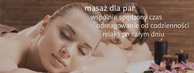masaż dla par poznań